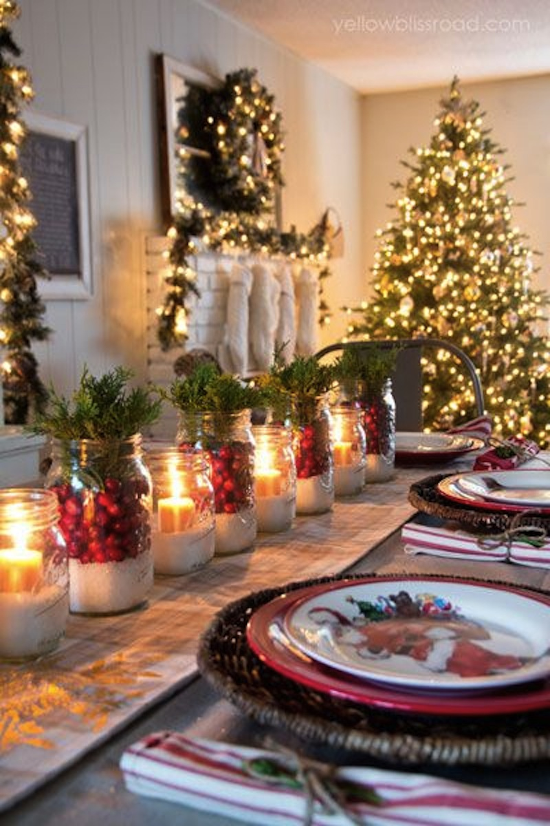indoor christmas table decorations - Indoor Decorative Christmas Trees