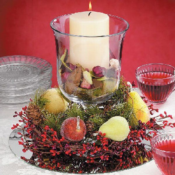 last minute christmas centerpiece ideas - Christmas Table Decorations Centerpieces