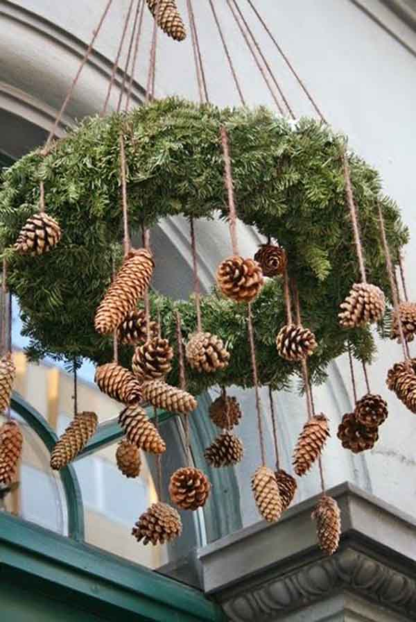 diy natural christmas decor