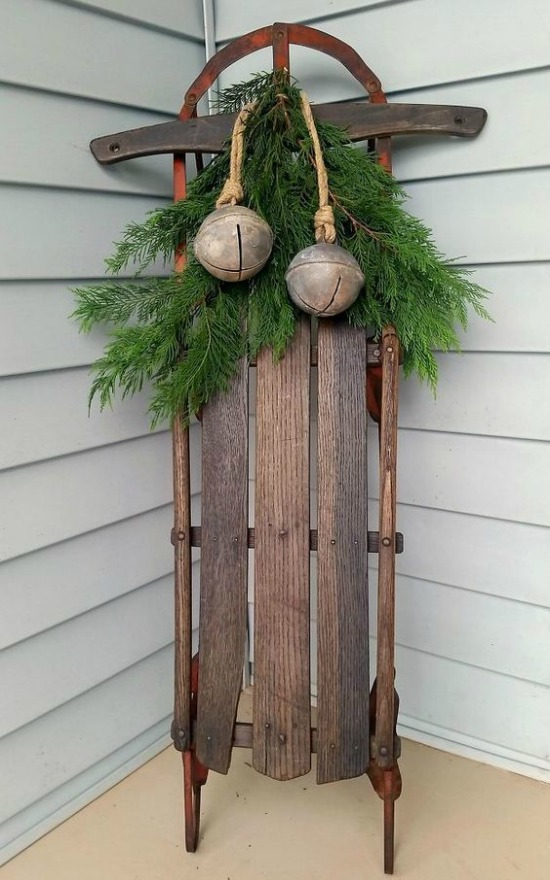 rustic outdoor christmas decorating ideas - Joy Outdoor Christmas Decoration