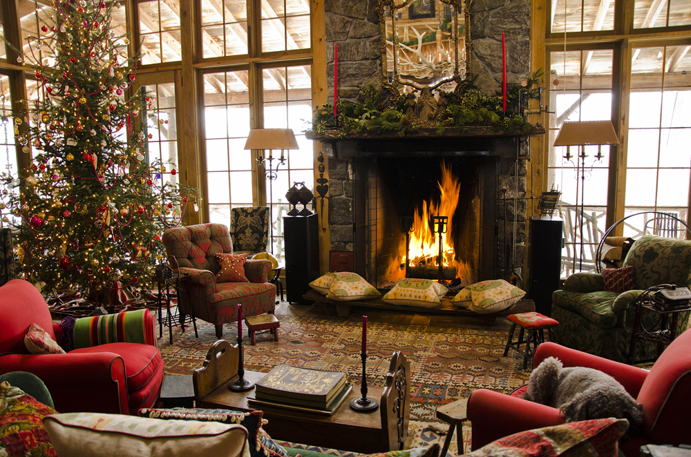 rustic christmas decorating ideas - Decorating Your House For Christmas