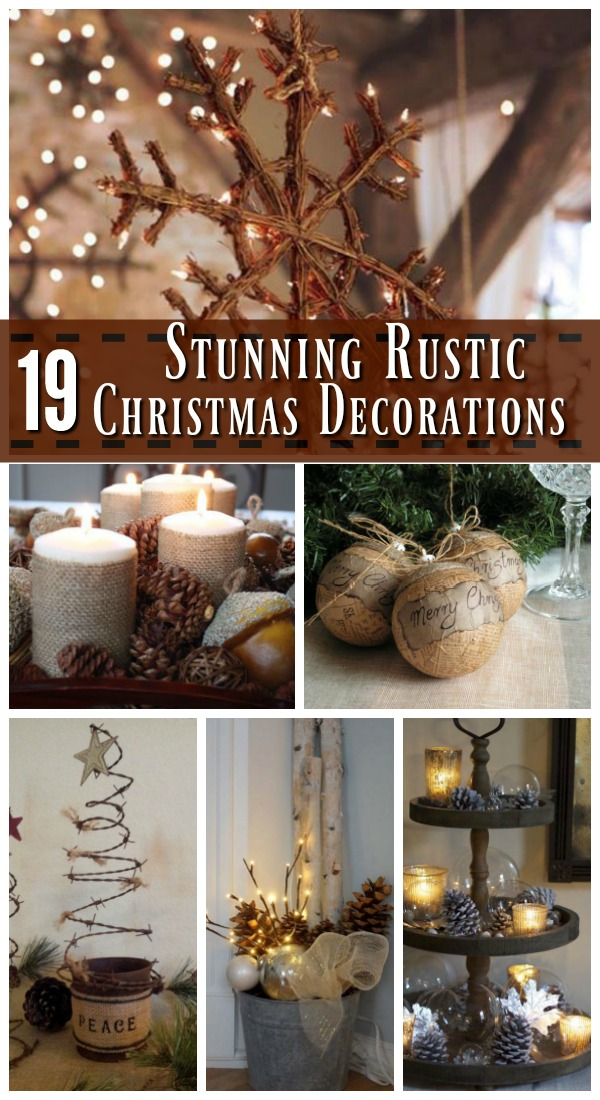 Attractive Rustic Holiday Decorating Ideas Part - 1: Rustic Christmas Decorations