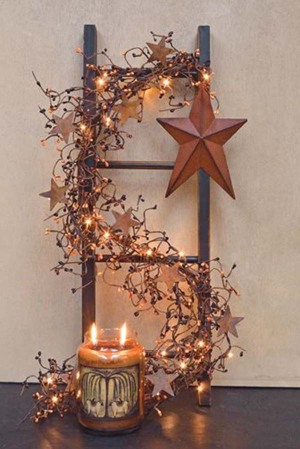 rustic christmas decorations 2 - Copper Christmas Decorations