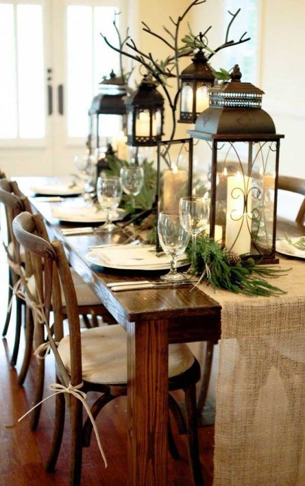 Top christmas centerpiece ideas for this christmas for Dinette table decorations