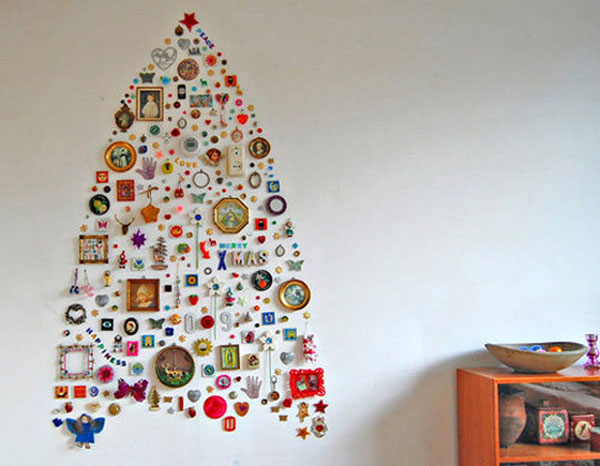 unique-christmas-tree-on-wall