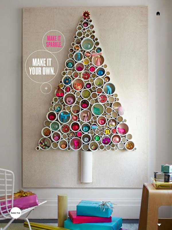 unusual christmas tree decoration ideas - Unique Christmas Decorating Ideas