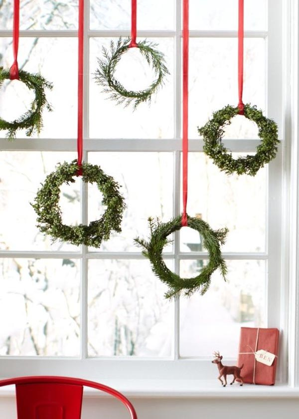 window christmas decorations ideas