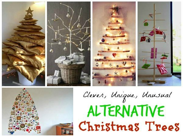 Unique and Clever Alternative Christmas Trees - Christmas Celebration - All about Christmas
