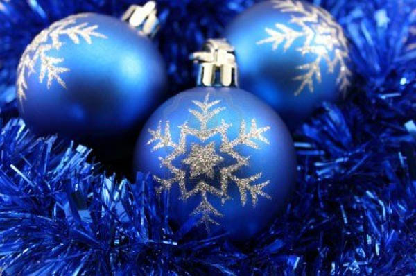 blue christmas balls - Blue Christmas Decorations