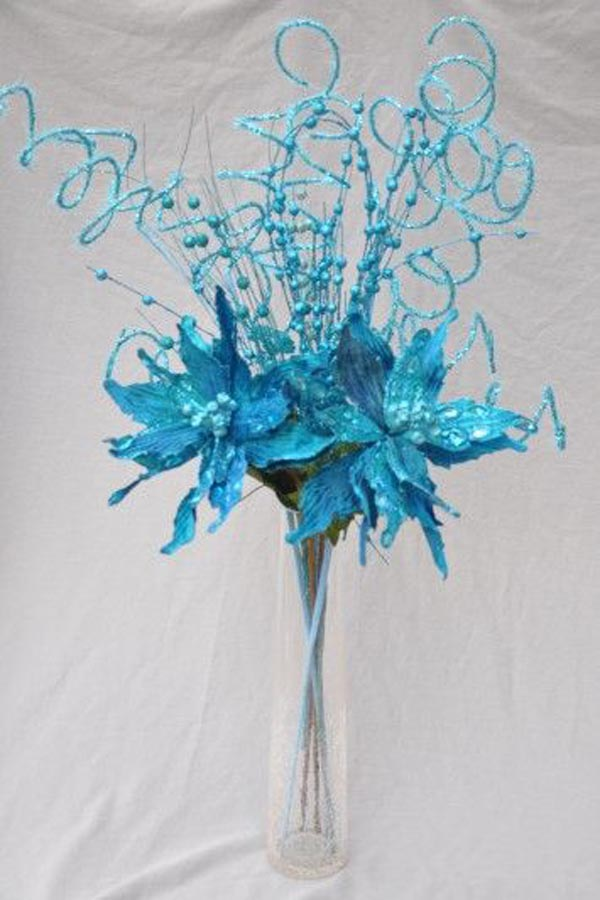 blue-christmas-bouquet-ideas