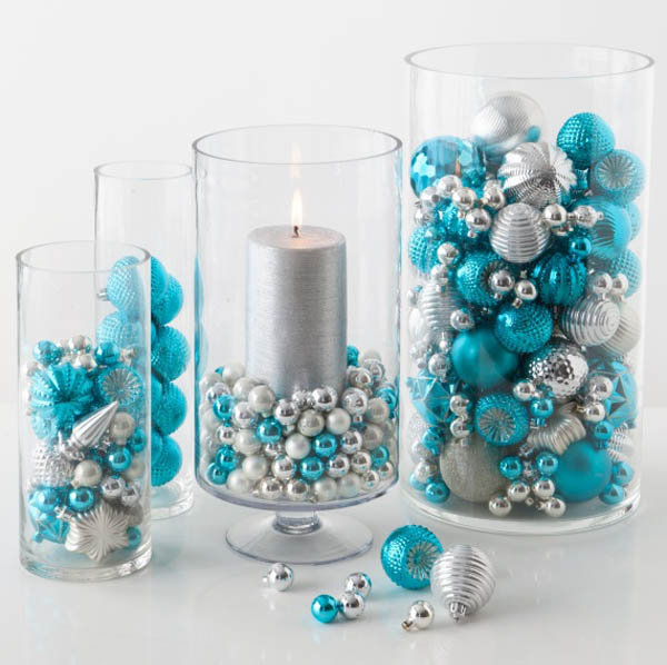 blue christmas ideas for decorating