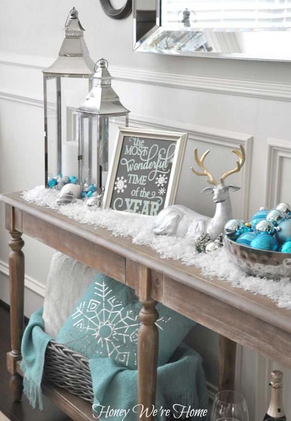 Blue Christmas Decorations Christmas Celebration All
