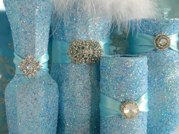 blue-christmas-wedding-centerpieces-decoration