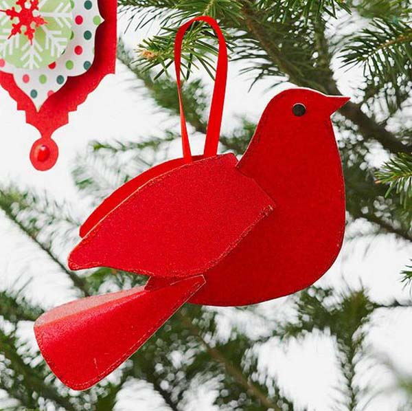 christmas decorations paper - Easy Paper Christmas Decorations
