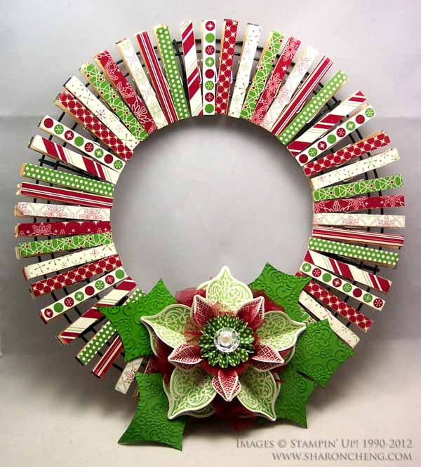Diy christmas decorations christmas celebration all about christmas christmas diy wreath decoration solutioingenieria Choice Image