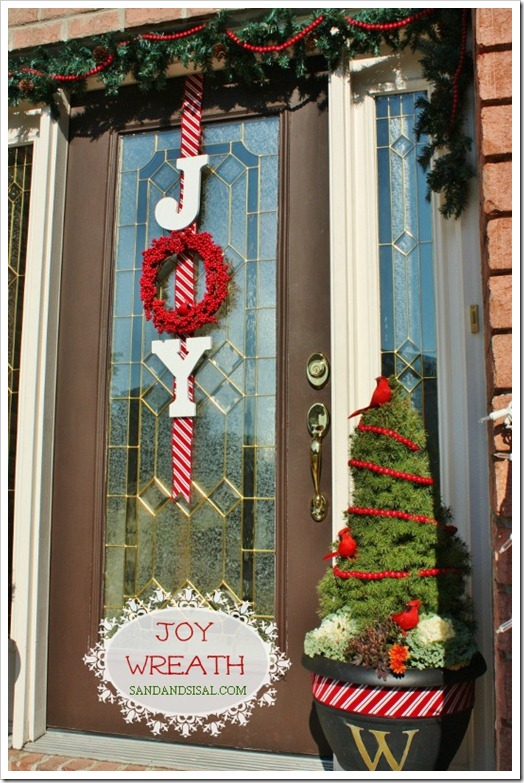 How To Decorate A Door For Christmas.Top Christmas Door Decorations Christmas Celebration All