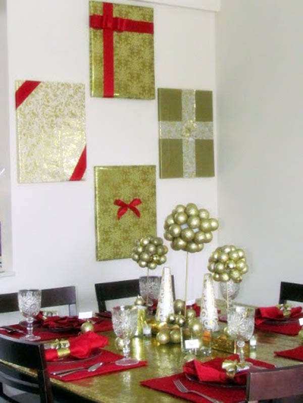 Decorating Walls deck your walls with these interesting christmas wall decorations