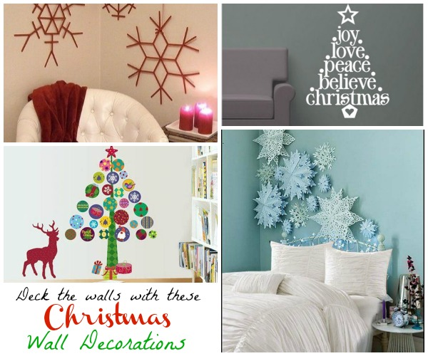 Decorating Ideas > Deck Your Walls With These Interesting Christmas Wall  ~ 110557_Christmas Decorations Ideas Wall