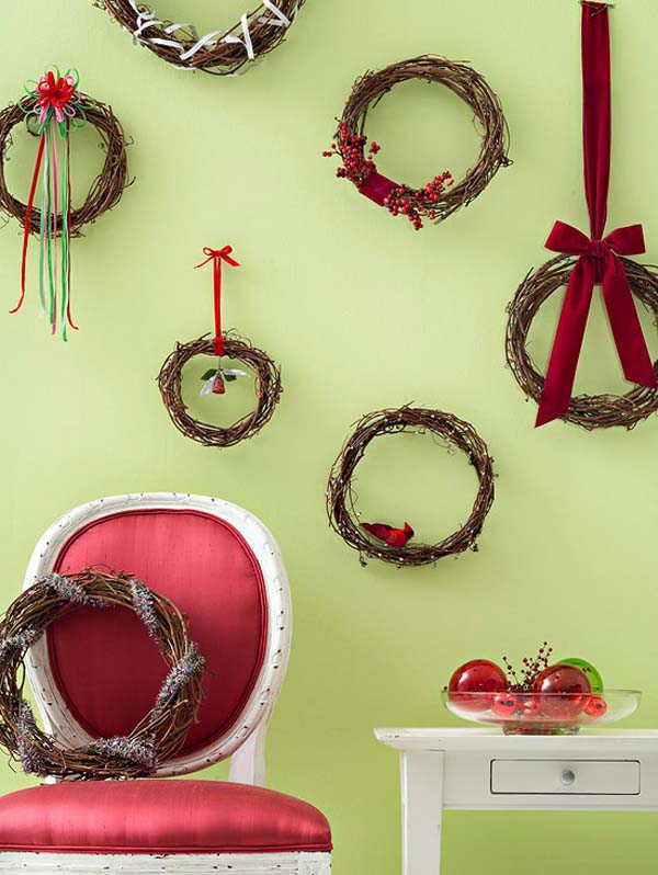 christmas-wreath-wall-decoration