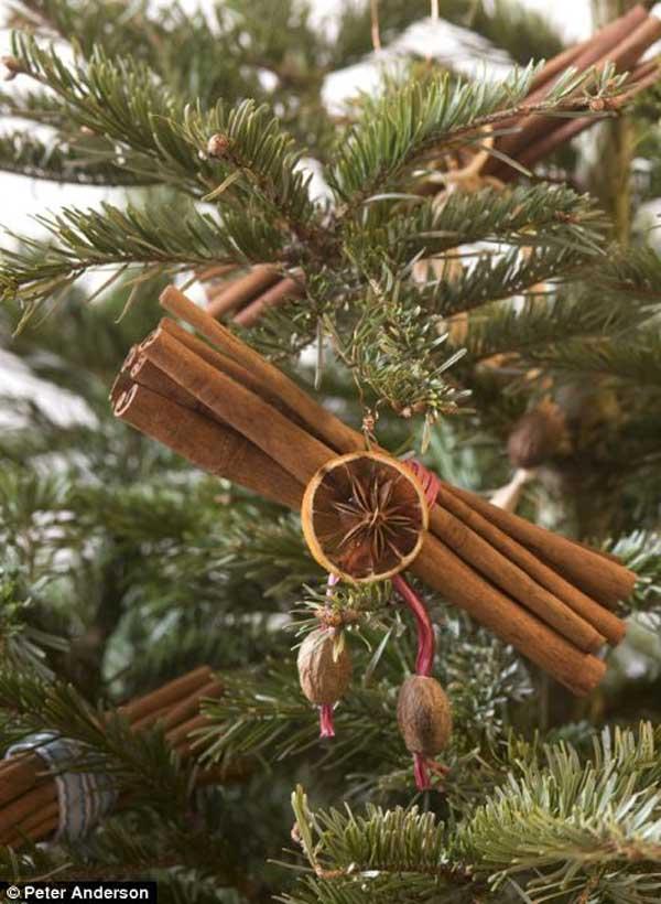 Christmas Decorations From Nature Part - 42: Cinnamon-bundles