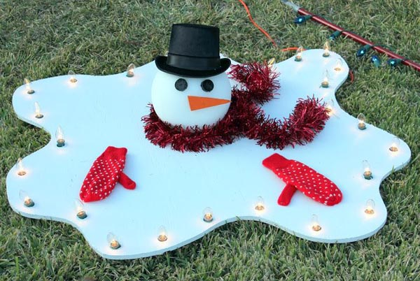 Diy Christmas Lawn Decoration