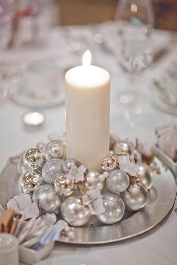 diy christmas table decoration to make