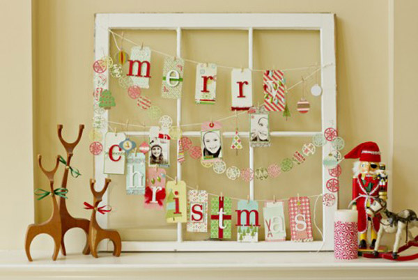Diy Christmas Wall Decoration