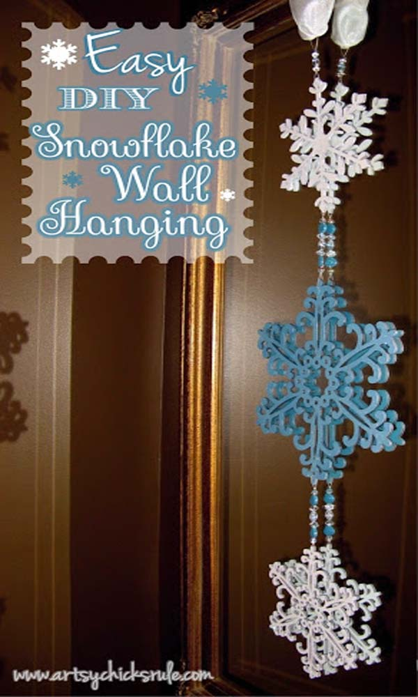 do-it-yourself-christmas-wall-decoration
