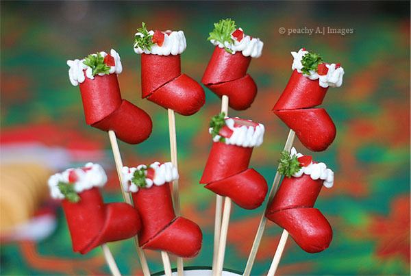 finger food for christmas party