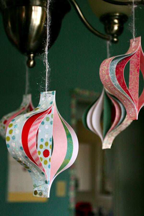 Paper christmas decorations christmas celebration all for 2 year old christmas ornaments crafts