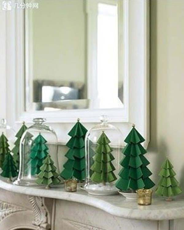 handmade paper christmas decorations - Handmade Paper Christmas Decorations