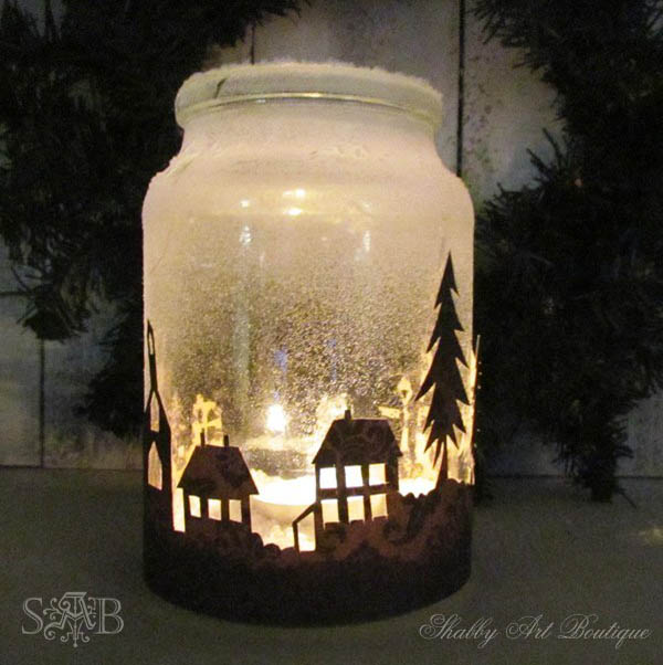 homemade-christmas-lantern
