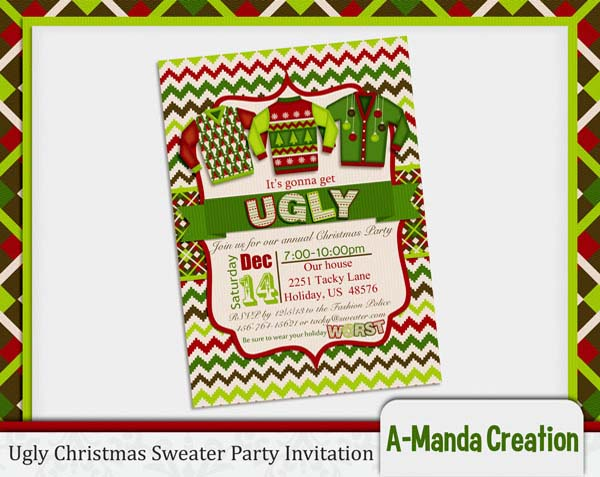 Ugly Christmas Sweater Party Ideas Christmas Celebration All
