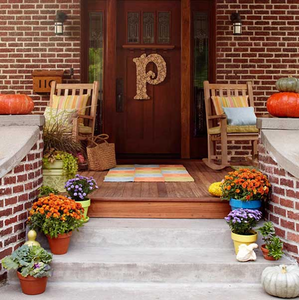 ideas christmas decoration porch - Decorating A Small Front Porch For Christmas