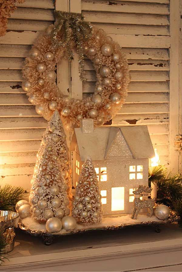 ideas vintage christmas decorations
