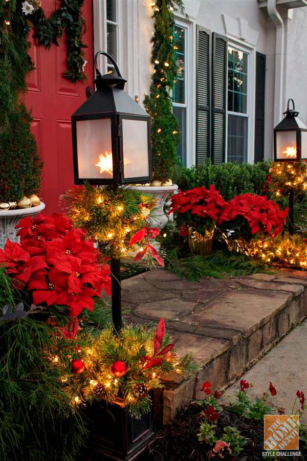 Top christmas lantern decorations to brighten up the for Outdoor christmas lantern decorations
