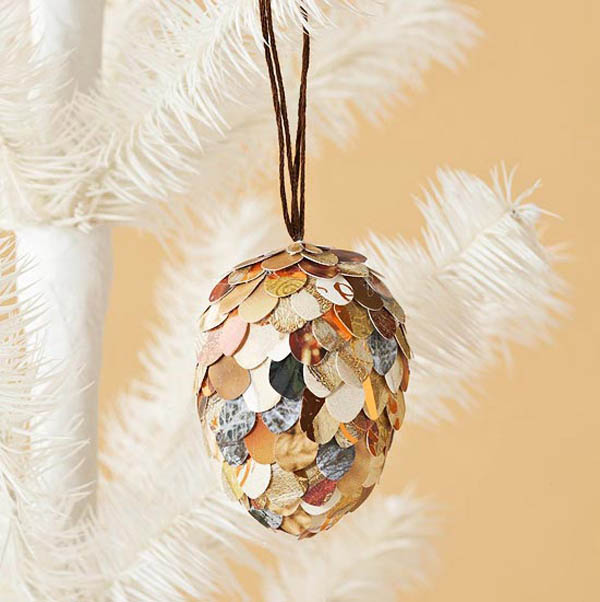paper mache christmas decorations - Cardboard Christmas Decorations