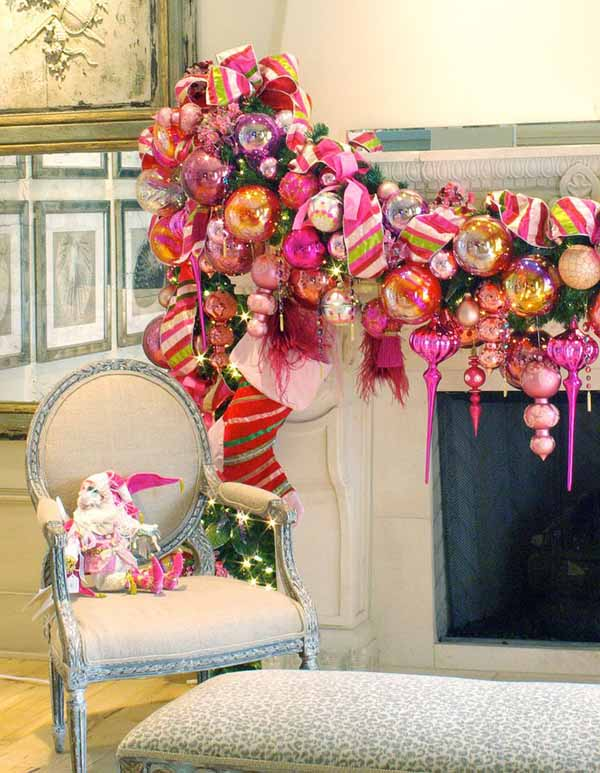 pink-christmas-decorating-idea