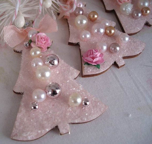 Pink christmas decoration ideas celebration