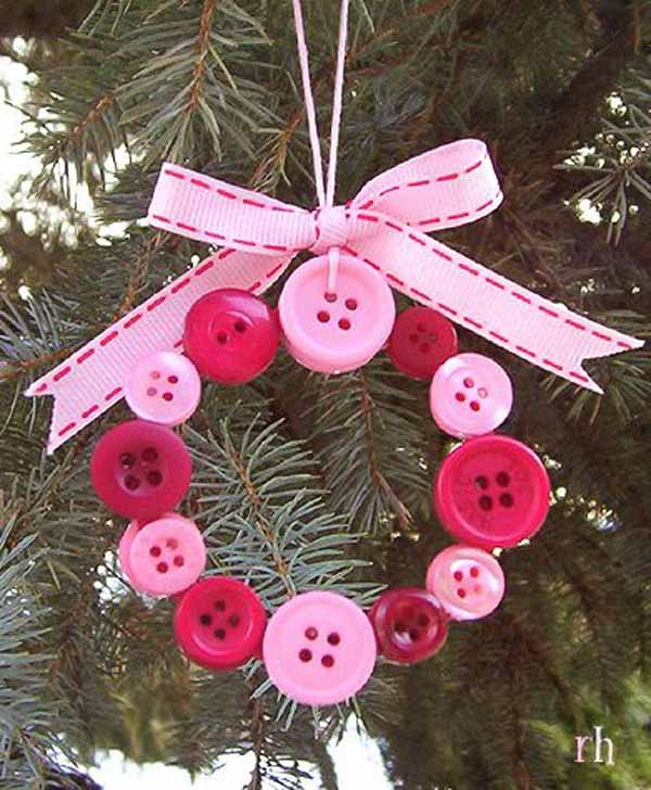 pink-handmade-christmas-tree-ornament