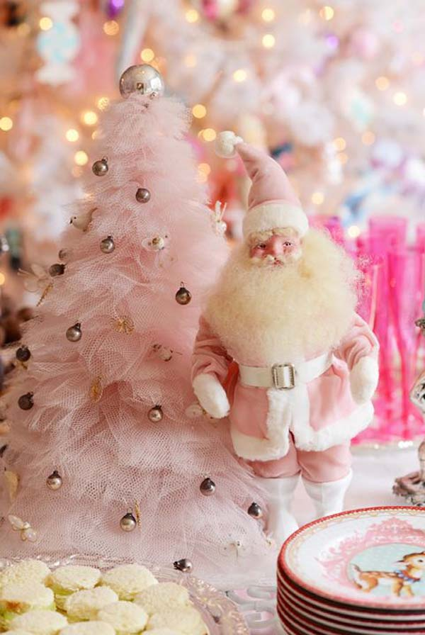 pink-santa-for-christmas-decoration