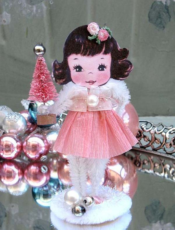 Pink Theme Christmas Decorating Ideas