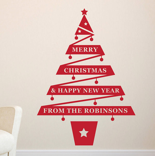 Christmas wall decorations ideas to deck your walls for Christmas decoration quotes