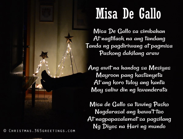 misa de gallo lyrics - Christmas Medley Lyrics