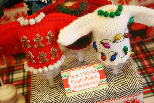 ugly christmas sweater party decorations ideas