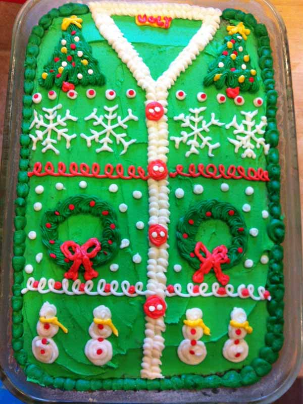 ugly christmas sweater party food ideas