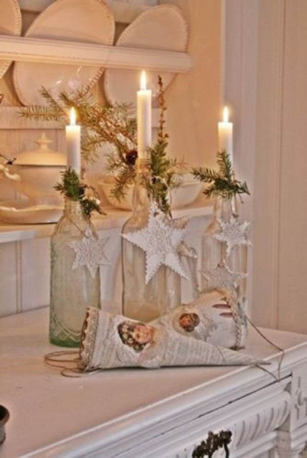 white vintage christmas ideas