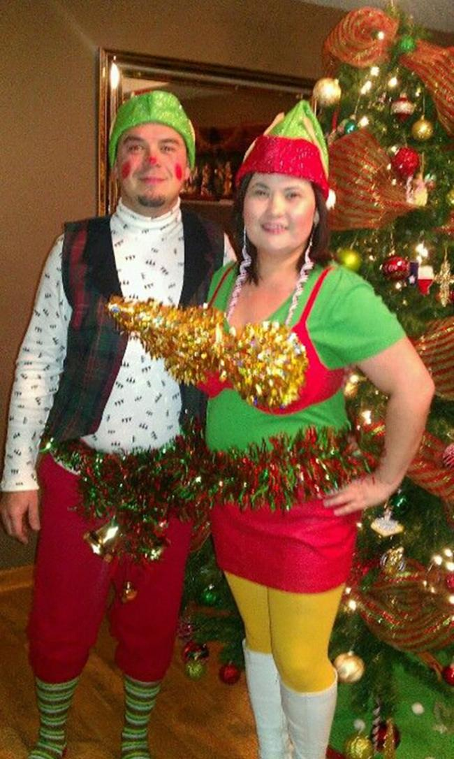 Couples Christmas Costume Idea  sc 1 st  Christmas Celebration & Stylish Christmas Costume Ideas For Your Holiday Party - Christmas ...