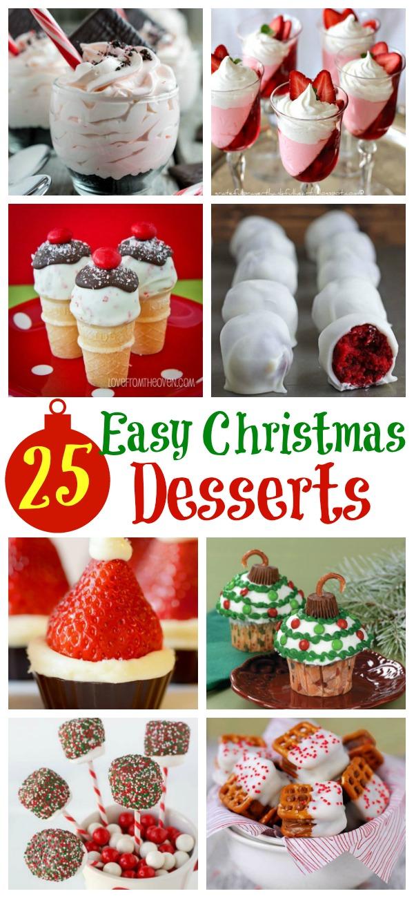 easy christmas desserts pinterest - Easy Christmas Desserts Pinterest