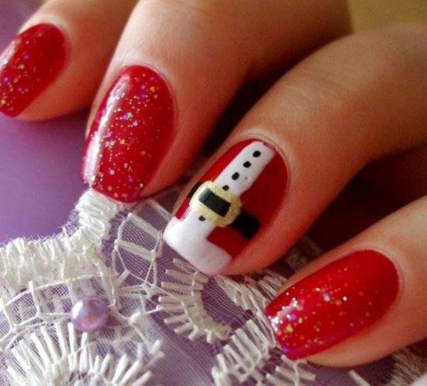 50 Amazing And Easy Christmas Nail Designs And Nail Arts Christmas
